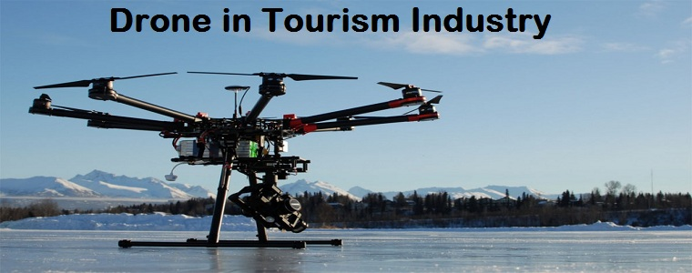 using drones in travel marketing